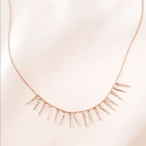 Stella & Dot - Marilyn Marquise Collar - Rosé Gold